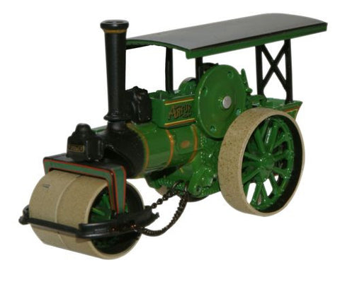 Oxford Diecast Arfur Fowler Steam Roller - 1:76 Scale