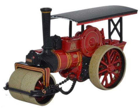 Oxford Diecast Fowler Road Roller Fippenny Queen_A W Field - 1:76 Scal