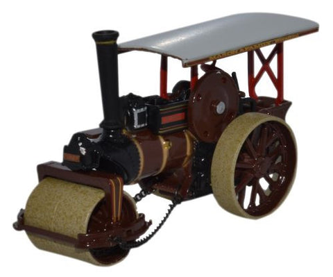 Oxford Diecast Fowler Steam Roller No 19053 Patricia B - 1:76 Scale