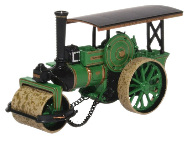 Fowler Steam Roller No.18873 City Of Truro By Oxford Diecast 1:76 Scale