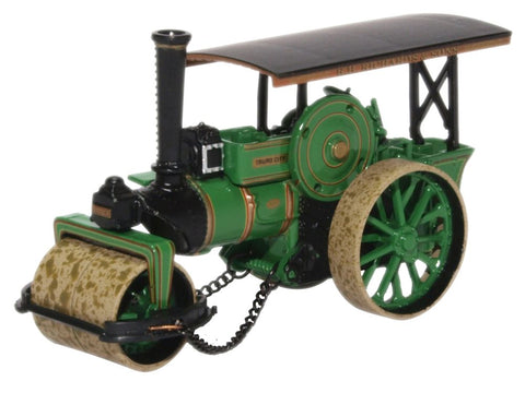 Oxford Diecast Fowler Steam Roller No.18873 City Of Truro