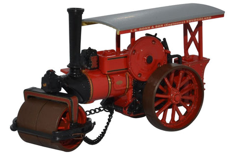 Oxford Diecast Fowler Steam Roller No.15981eve 1:76