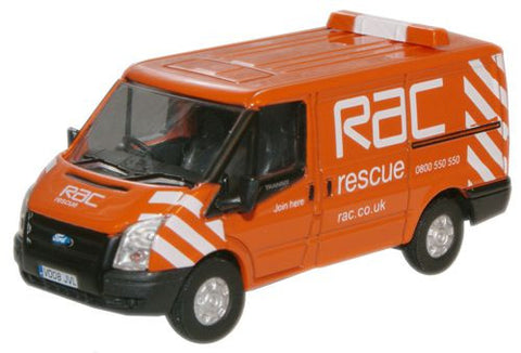 Oxford Diecast RAC New Ford Transit Van (L.Roof) - 1:76 Scale