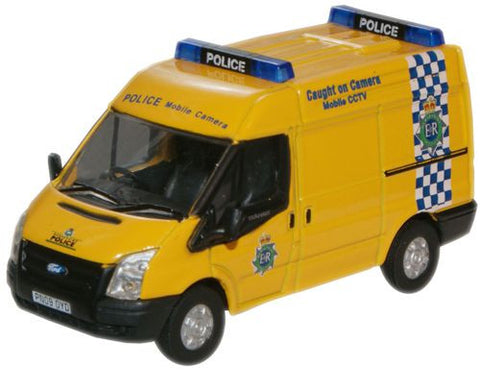 Oxford Diecast Merseyside Police Mobile Camera Ford Transit - 1:76 Sca