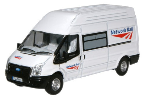 Oxford Diecast Ford Transit Network Rail - 1:76 Scale