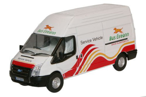 Oxford Diecast Bus Eireann Ford Transit LWB High - 1:76 Scale
