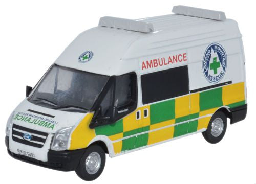 Oxford Diecast Ford Transit Lomond Mountain Rescue - 1:76 Scale