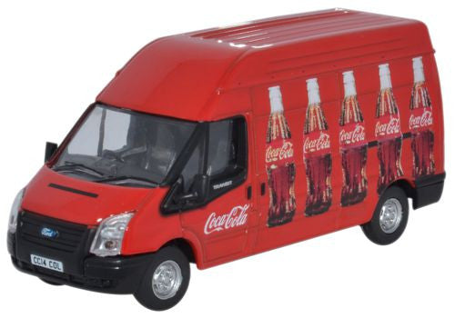 Oxford Diecast Ford Transit Coke - 1:76 Scale