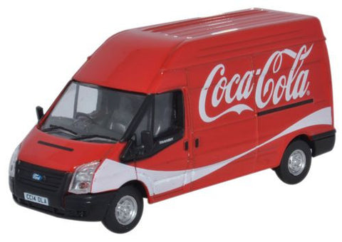 Oxford Diecast Ford Transit LWB High Roof Coke - 1:76 Scale