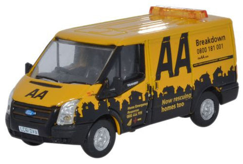 Oxford Diecast Ford Transit SWB Low Roof AA - 1:76 Scale