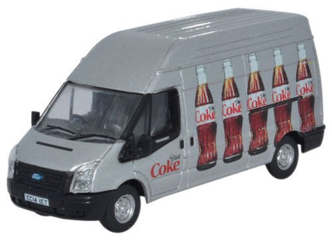 Oxford Diecast Ford Transit LWB High Roof Diet Coke (Bottles) - 1:76 S
