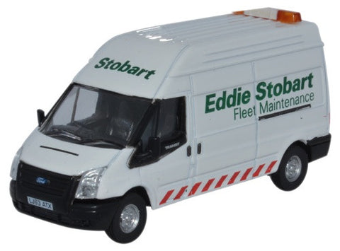 Oxford Diecast Ford Transit LWB High Stobart Fleet Maintenance - 1:76