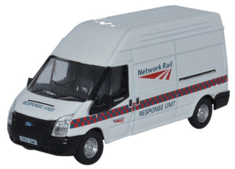 Oxford Diecast Ford Transit LWB High Network Rail Response Unit
