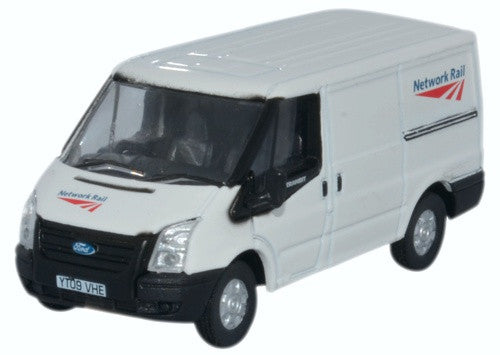 Oxford Diecast Ford Transit SWB Low Roof Network Rail