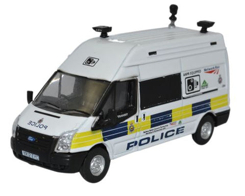 Oxford Diecast Ford Transit LWB High Network Rail Speed Camera