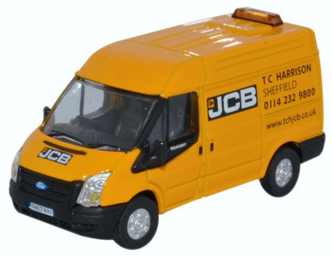 Oxford Diecast Ford Transit Swb Medium Roof JCB