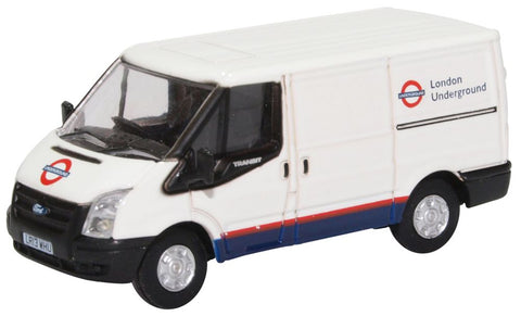 Oxford Diecast Ford Transit Mk5 SWB Low Roof London Underground