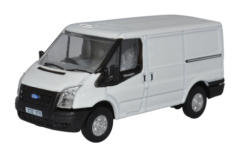 Oxford Diecast Frozen White Ford Transit Mkv SWB Low Roof