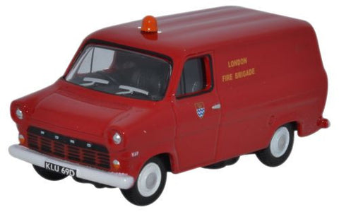 Oxford Diecast Ford Transit Mk1 London Fire Brigade - 1:76 Scale