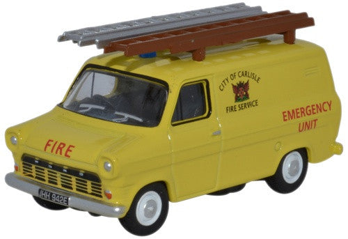 Oxford Diecast Ford Transit Mk1 City Of Carlisle Fire Service