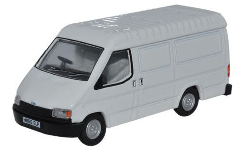 Oxford Diecast Ford Transit Mk3 White - 1:76 Scale