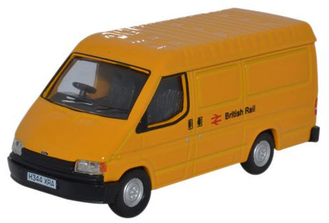 Oxford Diecast Ford Transit Mk3 British Rail - 1:76 Scale