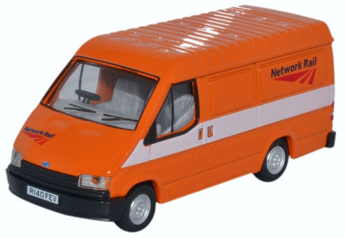 Oxford Diecast Ford Transit MK3 Network Rail