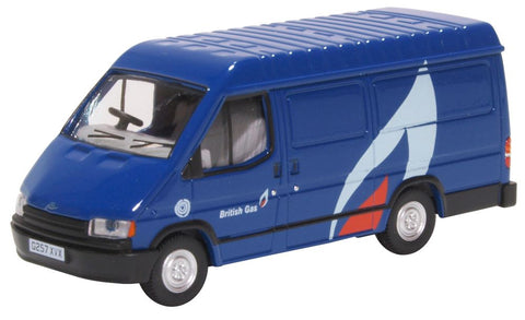 Oxford Diecast Ford Transit Mk3 British Gas
