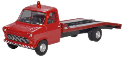 Oxford Diecast Red Ford Transit MkI Recovery - 1:76 Scale