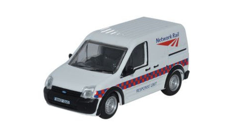 Oxford Diecast Ford Transit Connect Network Rail - 1:76 Scale