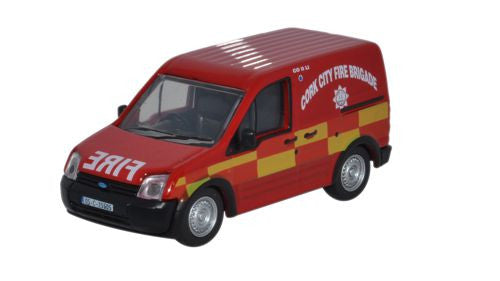 Oxford Diecast Ford Transit Connect Cork City Fire Brigade - 1:76 Scal