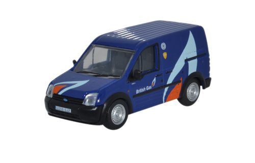 Oxford Diecast Ford Transit Connect British Gas - 1:76 Scale