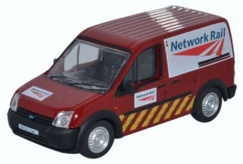 Oxford Diecast Ford Transit Connect Network Rail Jarvis