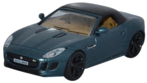 Oxford Diecast Jaguar F Type British Racing Green Metallic