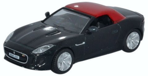 Oxford Diecast Jaguar F Type Ultimate Black