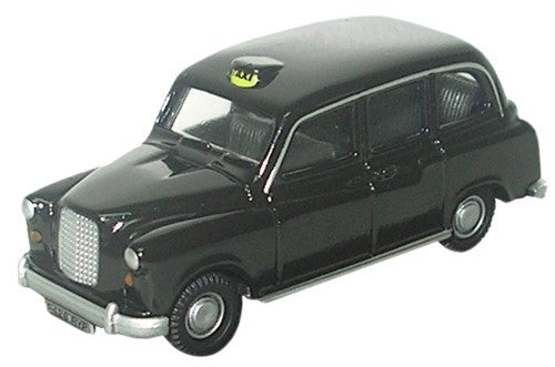 Oxford Diecast FX4 Black Taxi - 1:76 Scale