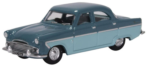 Oxford Diecast Ford Zodiac MKII Shark Blue and Pompadour Blue