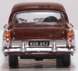 Oxford Diecast Ford Zodiac MkII Imperial Maroon/ermine White