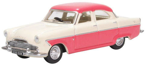 Oxford Diecast Ford Zodiac MKII Ermine White and Pink