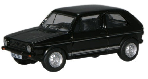 Oxford Diecast Black Golf GTI - 1:76 Scale