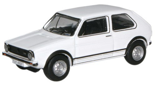 Oxford Diecast Alpine White Golf GTI - 1:76 Scale