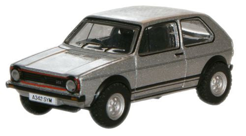 Oxford Diecast Silver VW Golf Gti - 1:76 Scale