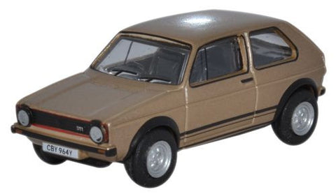 Oxford Diecast VW Golf GtT Diamond Copper Brown Metallic