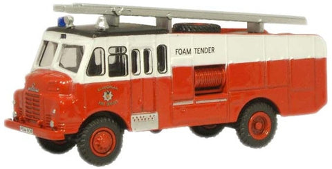Oxford Diecast Glamorgan Fire Service Green Goddess - 1:76 Scale