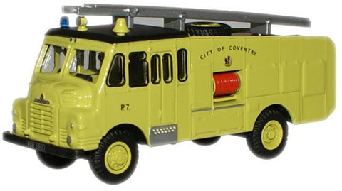 Oxford Diecast Coventry Fire Brigade Green Goddess - 1:76 Scale
