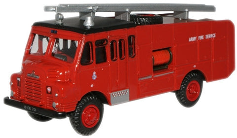 Oxford Diecast Army Fire Service Green Goddess - 1:76 Scale