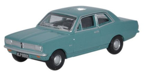Oxford Diecast Peacock Blue Vauxhall Viva HB - 1:76 Scale