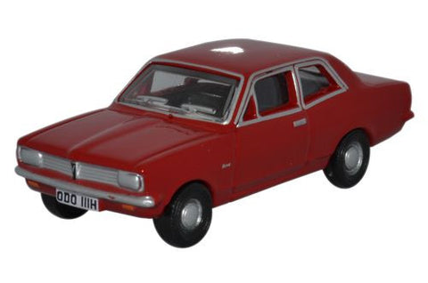 Oxford Diecast Vauxhall Viva HB Monza Red - 1:76 Scale