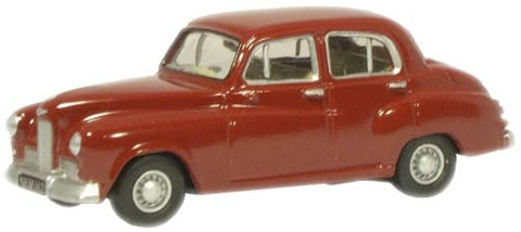Oxford Diecast Claret Humber Hawk MkIV - 1:76 Scale