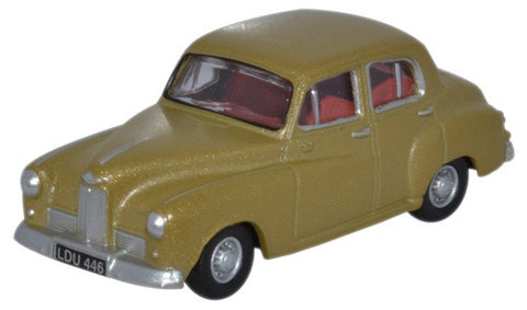 Oxford Diecast Humber Hawk MkIV Golden Sand - 1:76 Scale